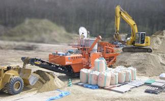 ㉝土壌改良・土壌汚染対策処理